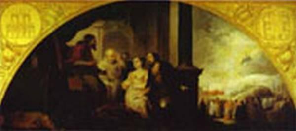 MURILLO Patrician John Reveals his Dream to Pope Liberius